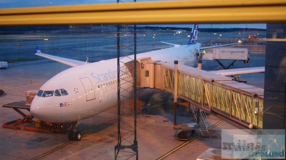 لدينا الطائرة إلى شيكاغو - SAS إيرباص A330-300 LN-RKR