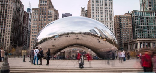 Il Cloud Gate im Millenium Park