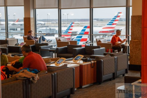 American Airlines Admirals Club Chicago