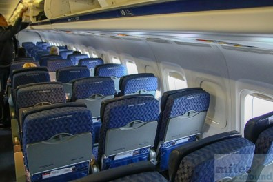 American Airlines MD-80 Rear Cabin