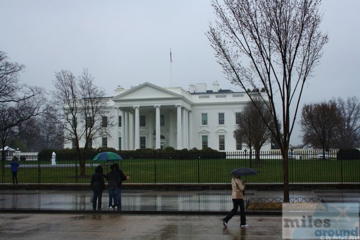 Washington D.C. - Sehenswürdigkeiten im Regen