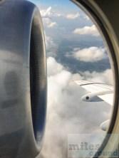 Fokker 100 OE-LVG wing view