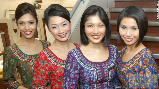 Singapore Girls (Quelle: Singapore Airlines)