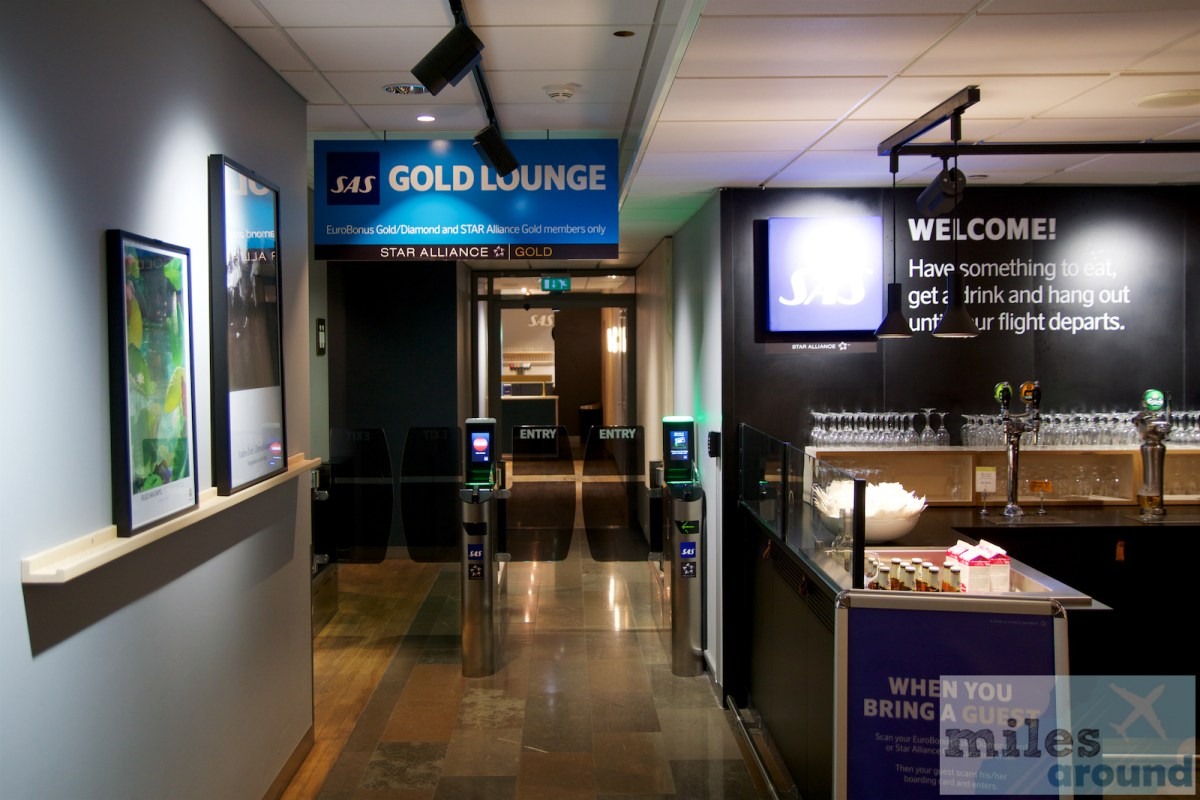 SAS Gold Lounge Осло