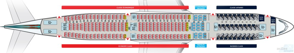 Air Canada Airbus A330-300 Kabinenlayout (What: Air Canada)