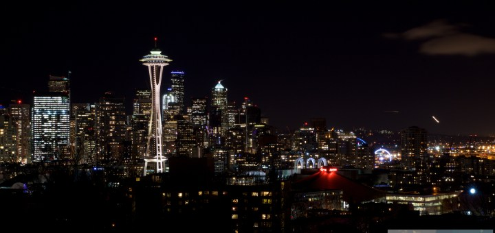 Seattle at night - View from Kerry Park