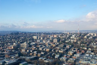 Kerry Park und Queen Anne Hill