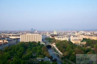 Ausblick auf den Wiener Stadtpark