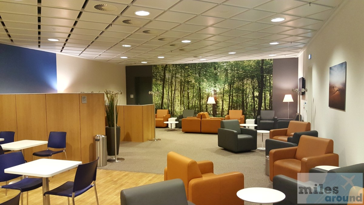 Lufthansa Business Lounge op luchthaven Leipzig / Halle
