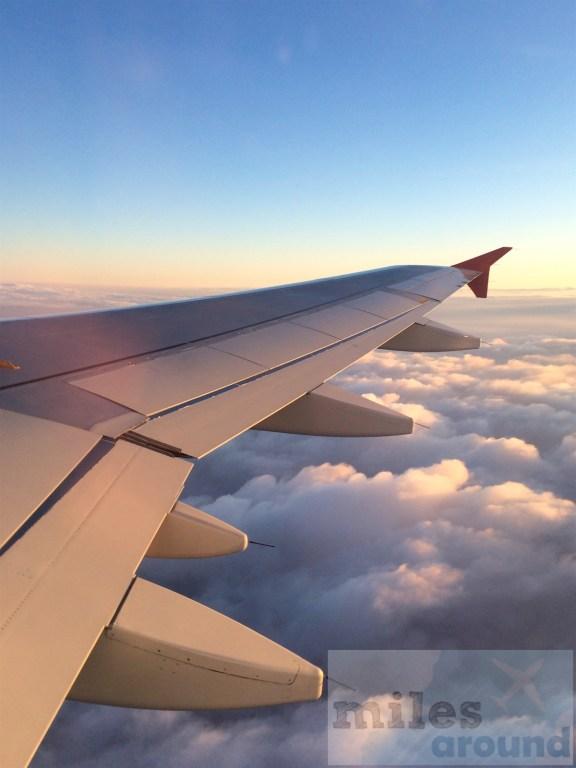 Austrian Airlines Flug nach Wien