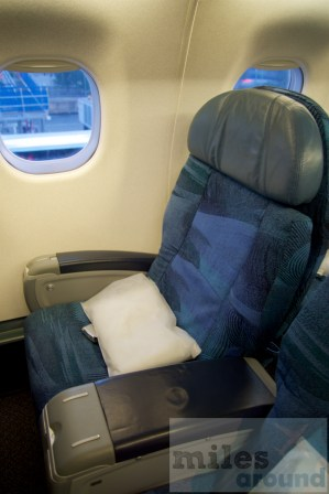 Air Canada Business Class im Embraer ERJ-190 - Sitz