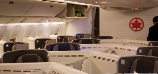 Air Kanada Business Class in der Boeing 777-300ER