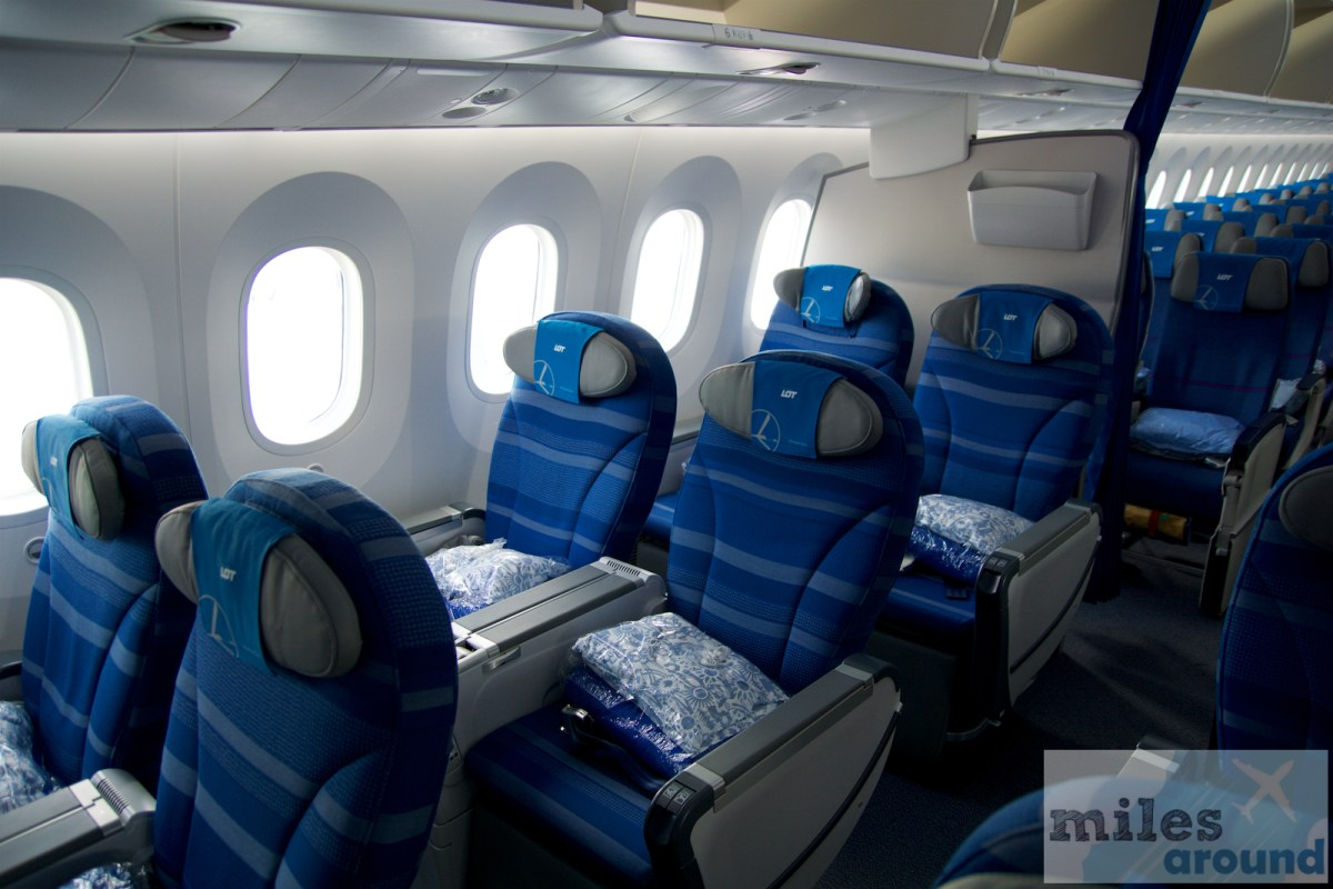 LOT Premium Economy in the Boeing 787-9 to Chicago