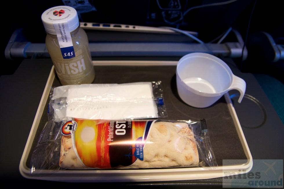 Snack in der SAS Go
