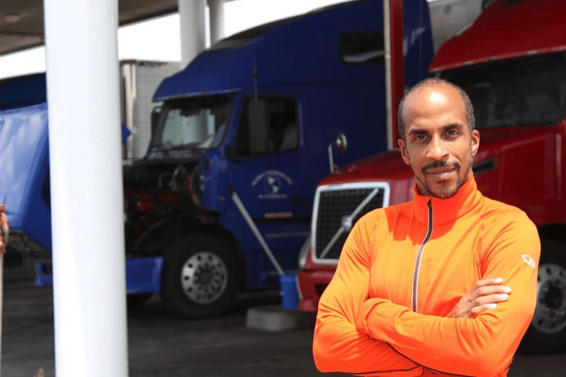 Trucker und Fitness Coach Baleka