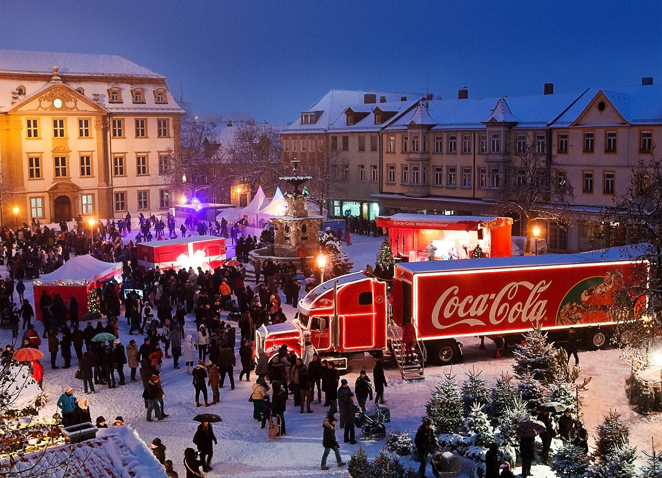 Coca-Cola Weihnachtstour 2012