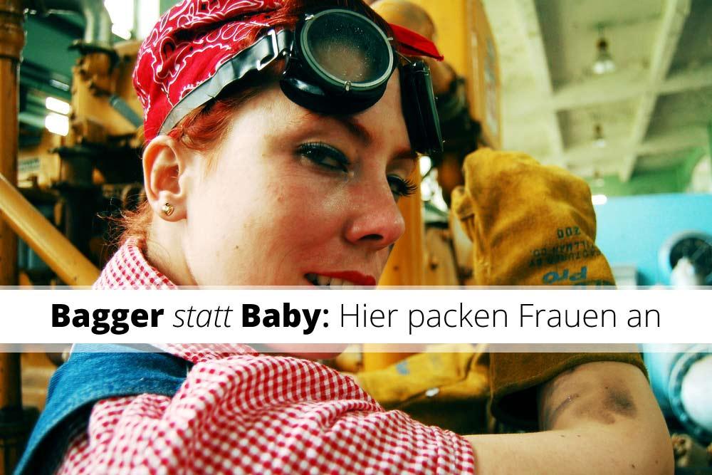 Bagger-statt-Baby