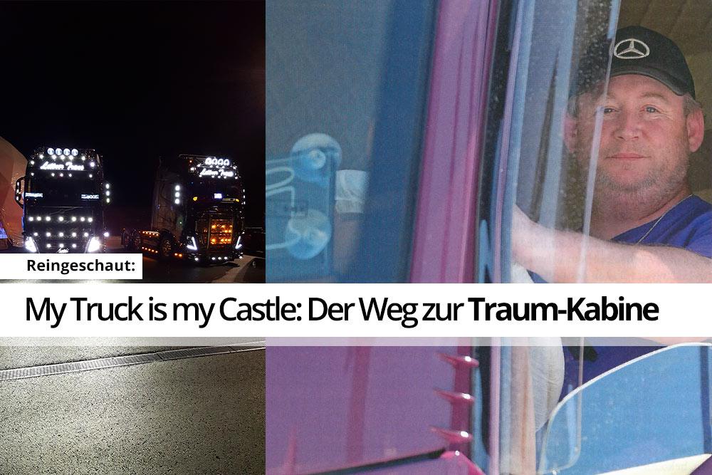 My Truck is my Castle