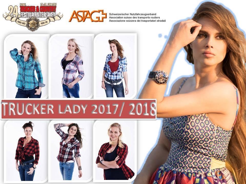 Wahl zur Trucker Lady 2017/2018 in Interlaken
