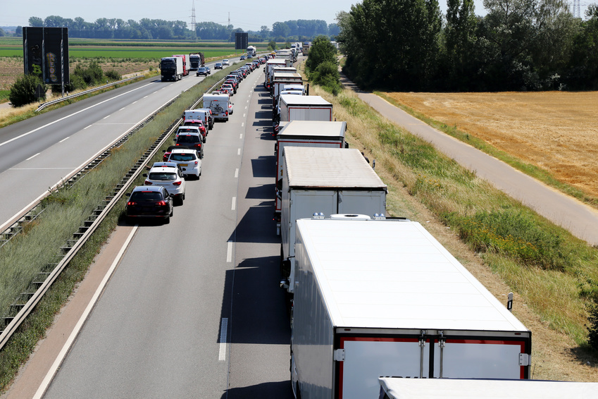 Rettungsgasse: freie Fahrt zum Unfallort