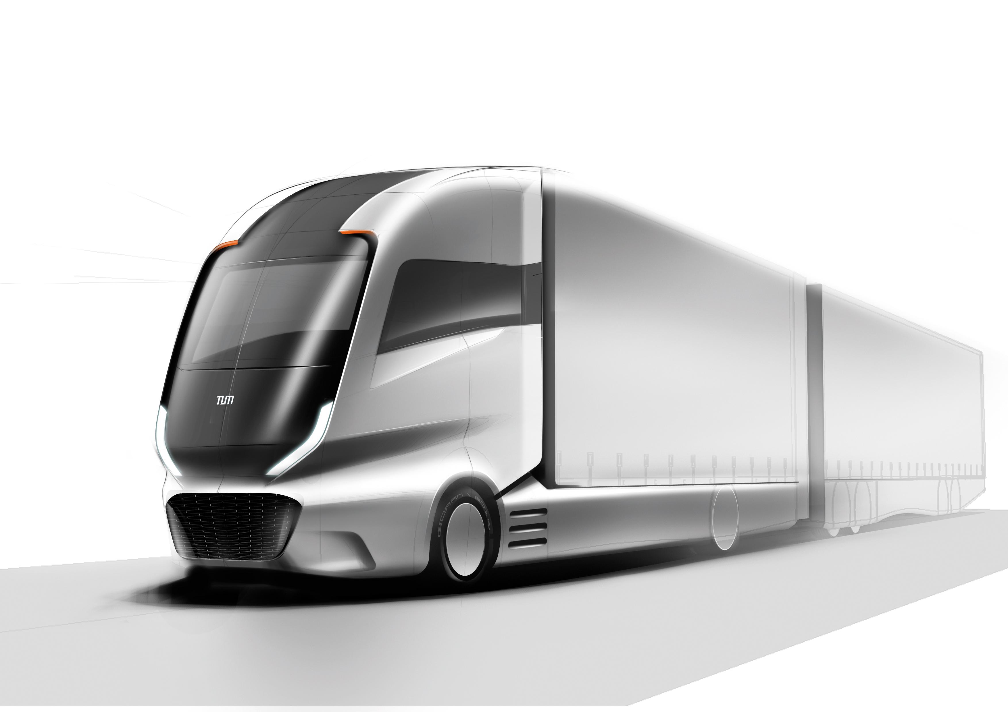 Truck 2030, Foto: TUM München