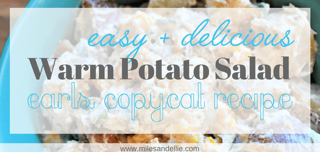 Easy and Delicious Warm Potato Salad