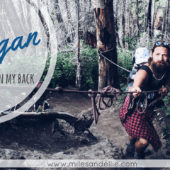 Christie Falls – Hiking the Okanagan with a Baby on my Back
