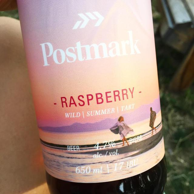 This right here is summer in a bottle! postmarkbrewing doeshellip