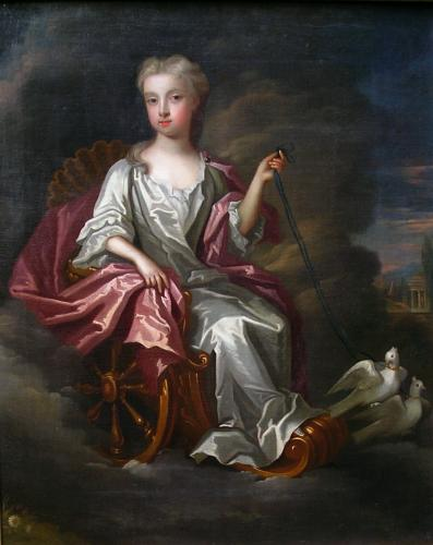 Catherine Wyche as Venus, circa 1720