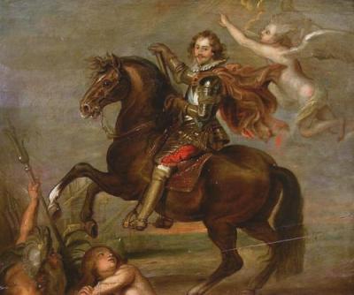Equestrian Portrait of the Duke of Buckingham