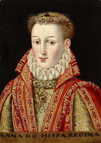 Anna of Austria, Queen of Spain (1549-80)