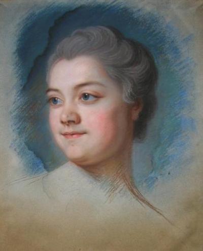 Mlle de Chastagner de Lagrange (b. 1741)