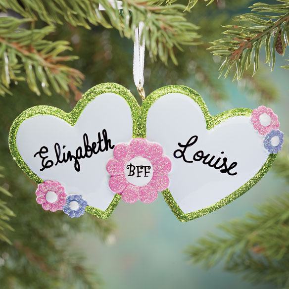 Personalized BFF Ornament Christmas Ornament Miles Kimball