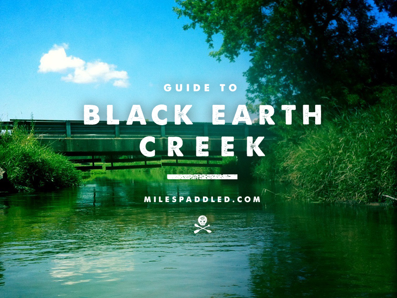 Black Earth Creek Paddle Guide
