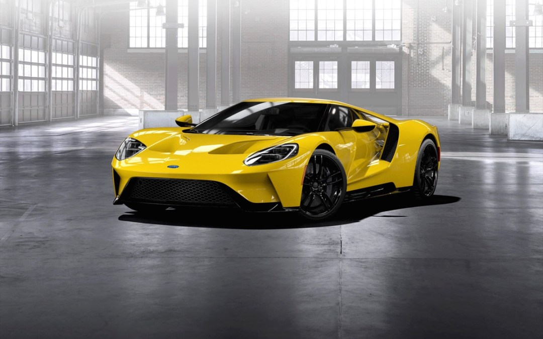 Everything There Is To Know About The 2017 Ford GT