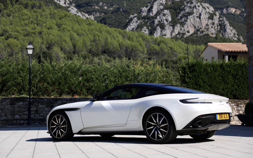 2018 Aston Martin DB11 V8 First Drive – Catalonia, Spain