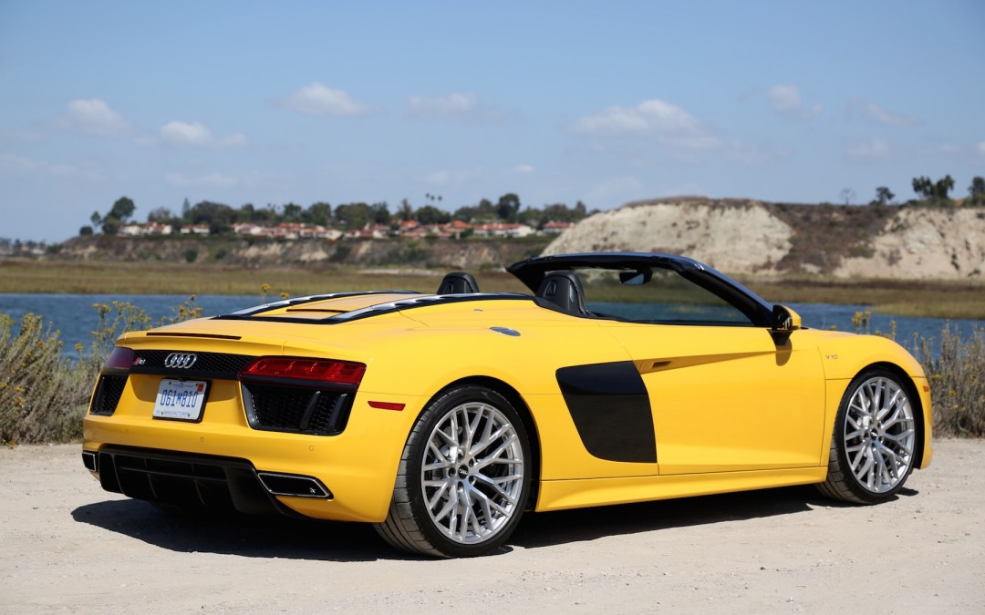 2018 Audi R8 Spyder Review