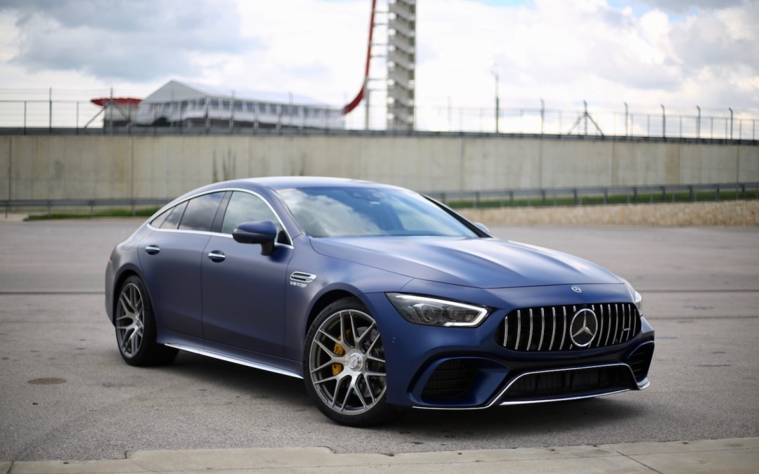 2019 Mercedes-AMG GT 4-Door Coupe First Drive