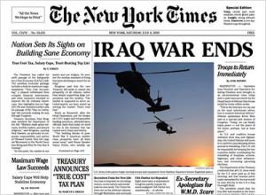 iraq war ends