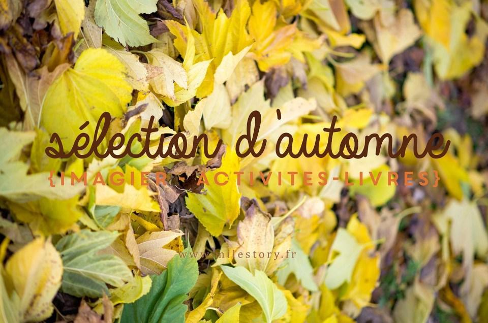 Grande récap d'automne : livres, imagier, activités, coloriages, jeux …