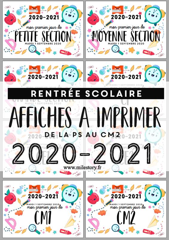Photobooth Affiches Rentree Mon Premier Jour D Ecole A Imprimer Milestory