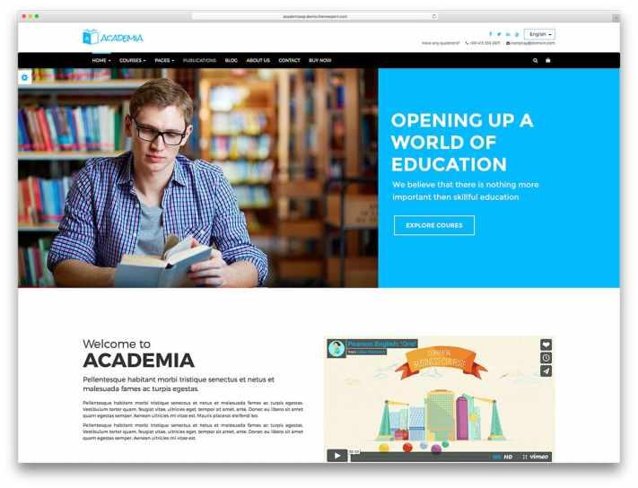 academia-classic-education-website-template - Web Hosting Blog by MilesWeb  | WordPress, Cloud & SEO Tips
