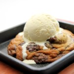melted cookies with ice cream medan