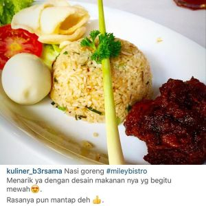 Everyone As Their Own Special Nasi Goreng At Miley Our