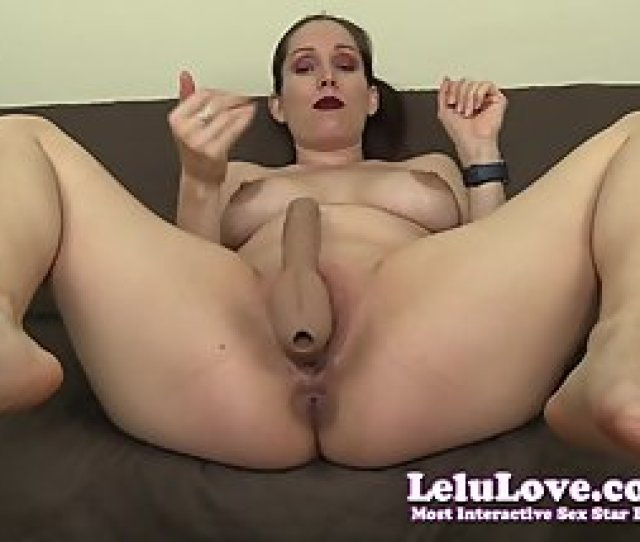 Lelu Love Strapon Pegging Joi With  Orgasm Cei