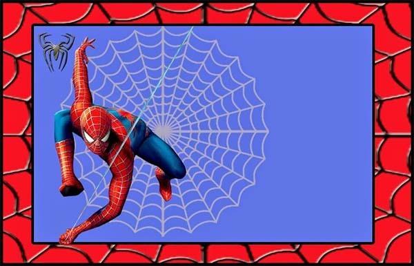 Invitaciones De Spiderman Para Imprimir Gratis