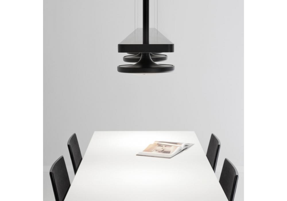button estiluz suspension lamp in rail