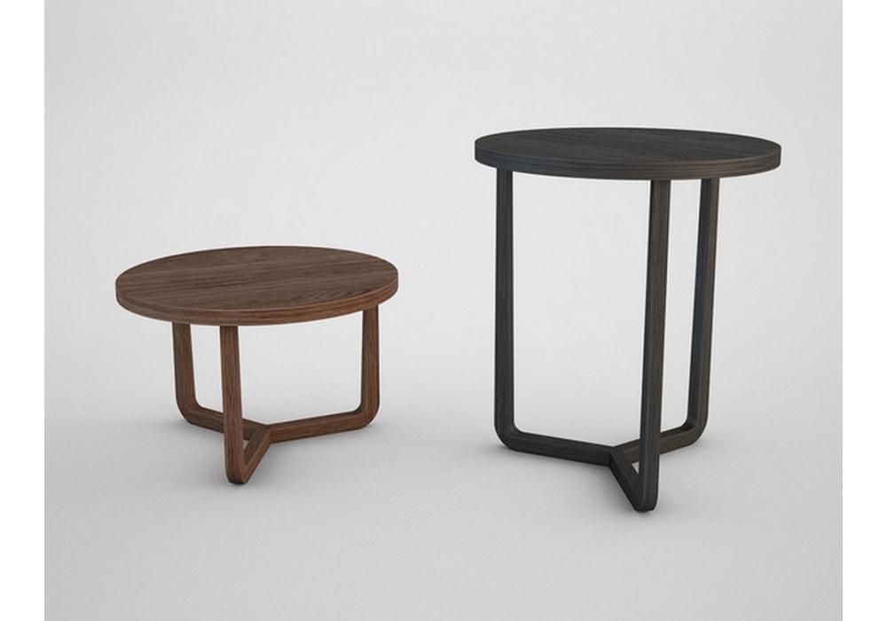 jiff round small table flexform milia