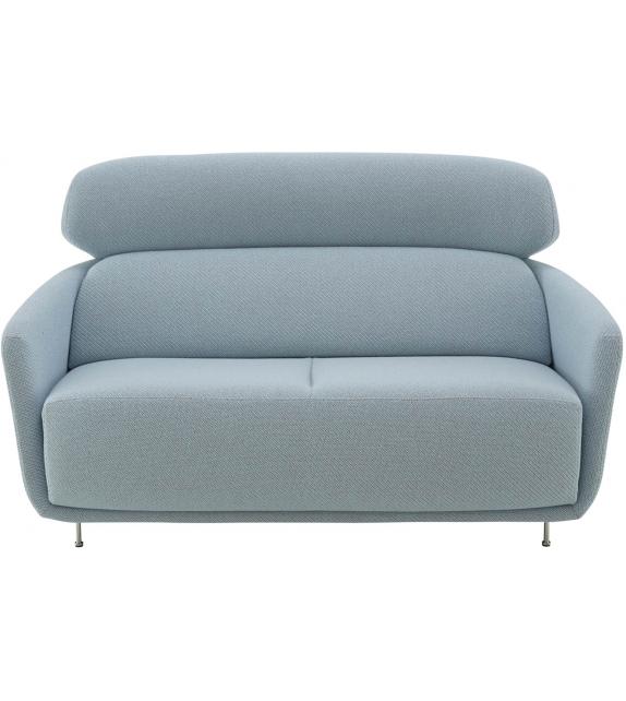 okura ligne roset fauteuil canape 2 places avec dossier haut milia shop