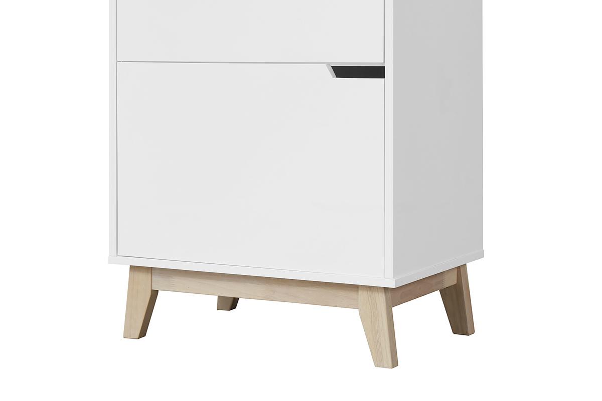 meuble de rangement design blanc 3